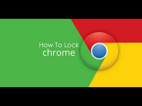 How to lock your google chrome Tested trick 100% working