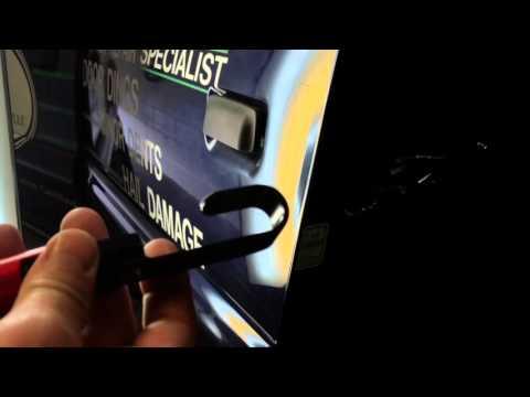 Edgy Hookers™ - Repairing a bent over door edge