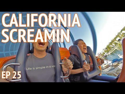 DISNEYLAND & CALIFORNIA ADVENTURE   Living the Van Life in California