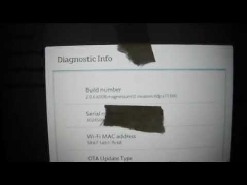Nook HD+ Secret Menu
