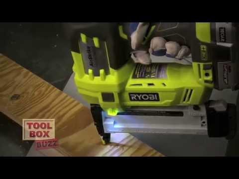 Ryobi Airstrike 18V Cordless Fastening Tools - Tool Review