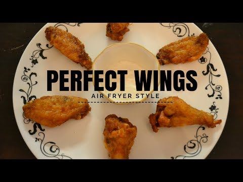 Perfect Air Fryer Chicken Wings
