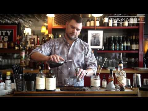 The Manual Bartender - How To Make A Rum Old Fashioned