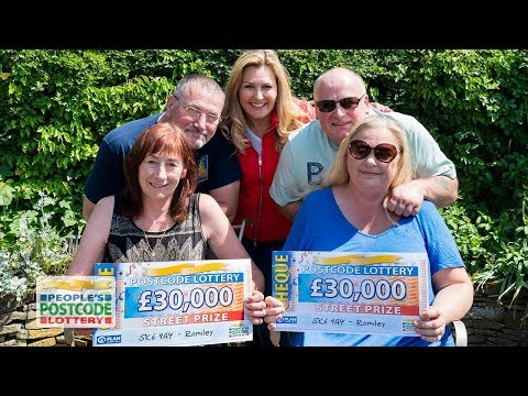 Street Prize Winners - SK6 4AY in Romiley on 03/06/2018 - People's Postcode Lottery