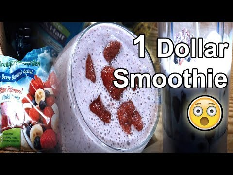 Berry Banana Smoothie in 1 Dollar