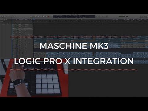 Maschine MK3 Logic Pro X Integration