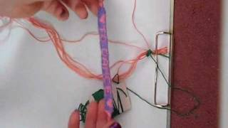 Part 1 How To Make A Letter Word Name Friendship Bracelet