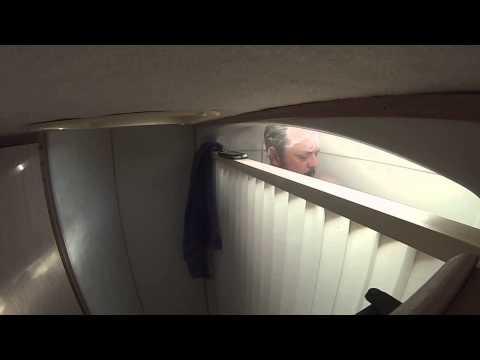 Real World RV Shower Head Test. Oxygenics vs Factory