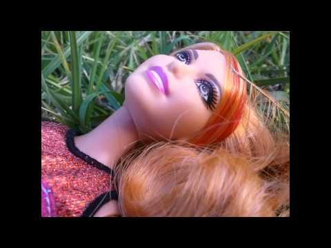 My Spring Barbie Doll photo shoot