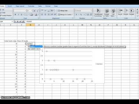 Jitter Data in Excel