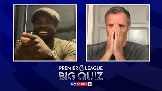 Micah Richards v Jamie Carragher in the ULTIMATE Premier League quiz!