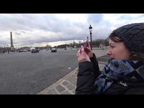 Walk Around Paris Part 3 of 3 — Louvre & Notre Dame [Binaural ASMR]
