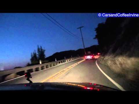 2 *LOUD* C63 AMGs Driving Malibu Canyons! PURE SOUND!