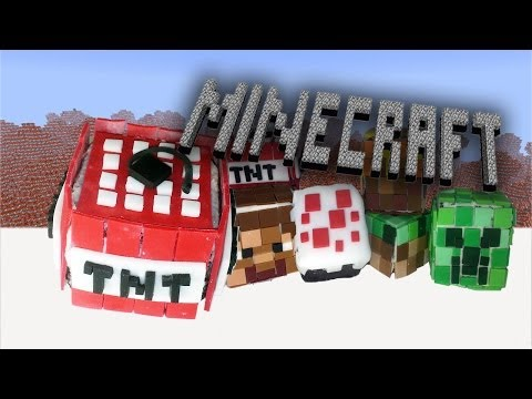 TNT Minecraft Cupcake - How To