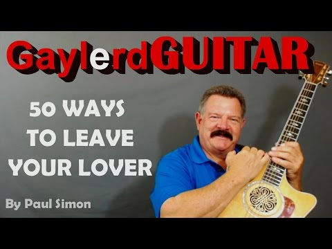 50 Ways to Leave Your Lover -Paul Simon Guitar Lesson