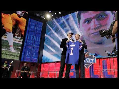 Grading the Bills' first-round pick of Josh Allen