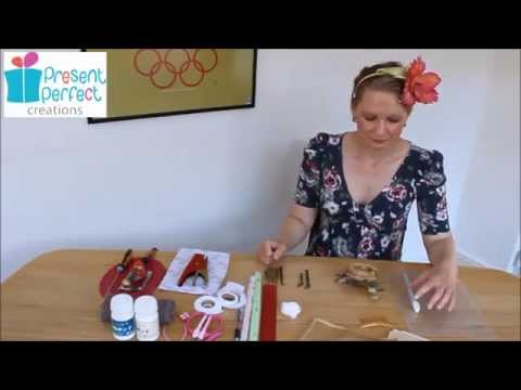 Introduction to Silk English Rose Hair Comb tutorial