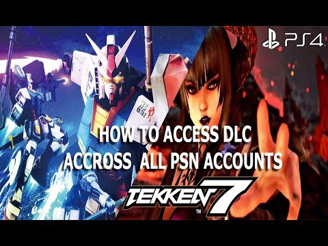 HOW TO USE DLC FROM OTHER PSN ACCOUNT REGION PS3 / PS4