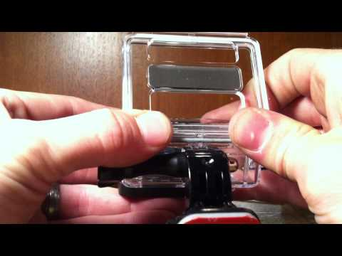 How To Remove GoPro Hero 3+ Back Door ... Change Back Door