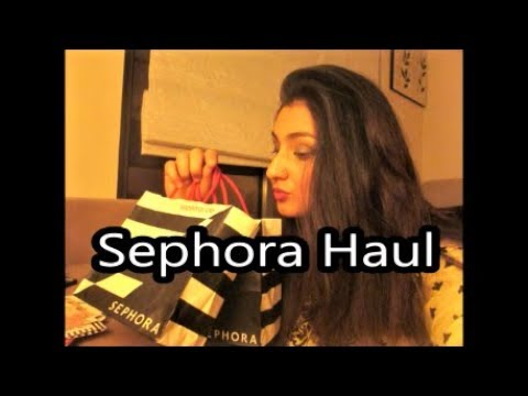 Makeup Haul/ Sephora Haul - ABH Prism Palette & HudaBeauty Electric Obsessions Mini palette Review