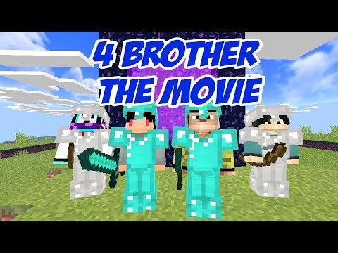 4 Brother masuk end portal!!! - Minecraft Machinima TRAILER
