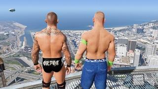 GTA 5 Randy Orton John Cena Compilation (GTA 5 Mods Fails Funny Moments)