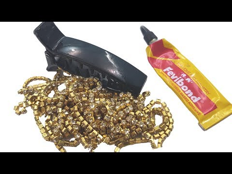 DIY Hair Clutcher /  Hair Accessories  | Easy Mother's Day Gift Idea | JK Arts 1385