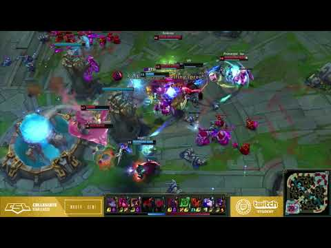College League of Legends Semifinals Highlights!