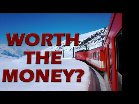 Switzerland Glacier Express Train St. Mortiz to Zermatt Review: Is it Worth the Money?