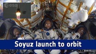 Horizons mission - Soyuz: launch to orbit