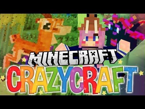 Gazelles & A Pet Dragon!   Ep 10   Minecraft Crazy Craft 3.0