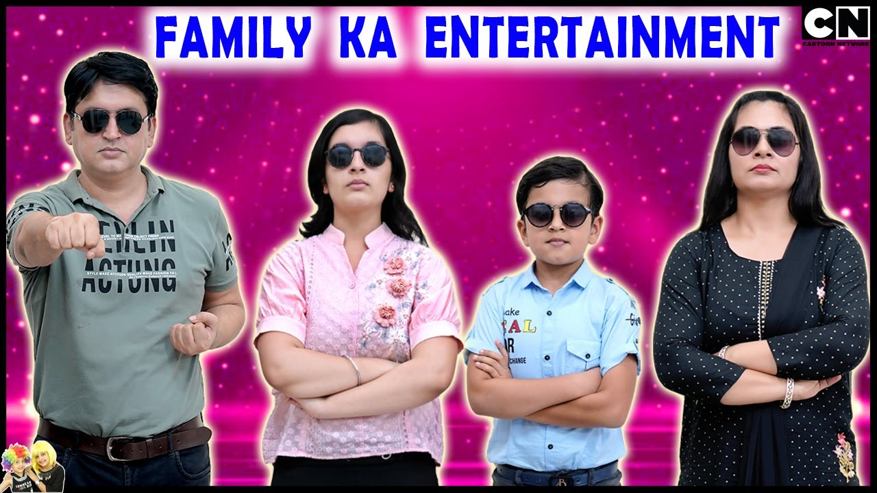 FAMILY KA ENTERTAINMENT | Fun with family in Kitchen, Terrace and Car | Aayu and Pihu Show