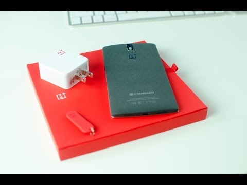 OnePlus One Unboxing (Sandstone Black)
