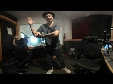 Mandy Jiroux teaching Hapa How to Dance