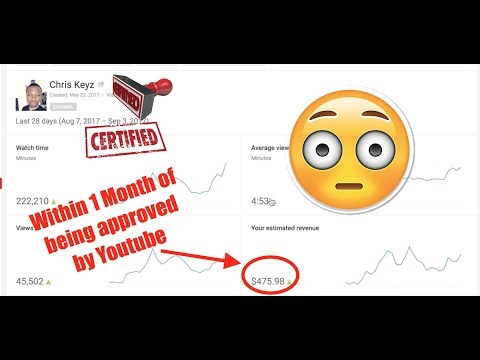 Making $2,000+ A Month Online with Youtube, Free Traffic, Paid by Google Adsense