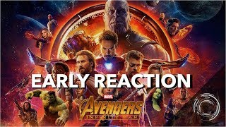 Avengers: Infinity War Act I NON-SPOILER Review/EARLY REACTIONS