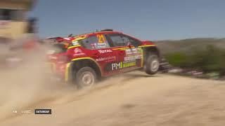 WRC 2 - Rally Italia Sardegna 2019: Event Highlights