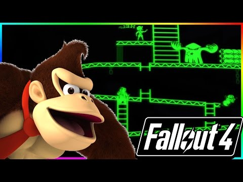 FALLOUT 4 Secrets & Easter Eggs: Donkey Kong