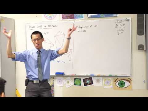 Angle Sums of a Polygon (1 of 2: Interior angles)