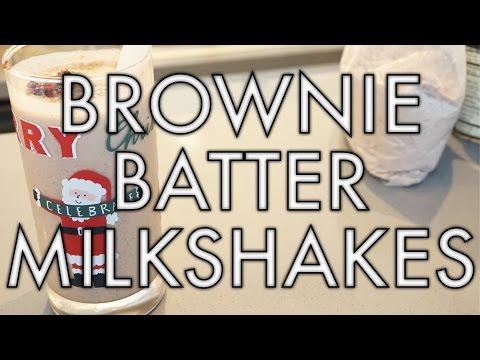 UGLY BAKING: BROWNIE BATTER MILKSHAKES!   storiesinthedust