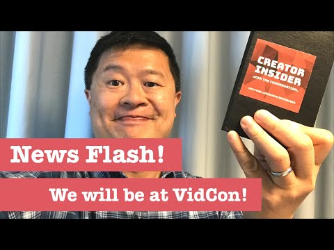 Updates on YPP, CI at VidCon, and more! Newsflash 6/4/18!