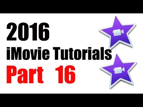 16. How to Add Royalty FREE Sound Effects to iMovie 10.1 (2016)