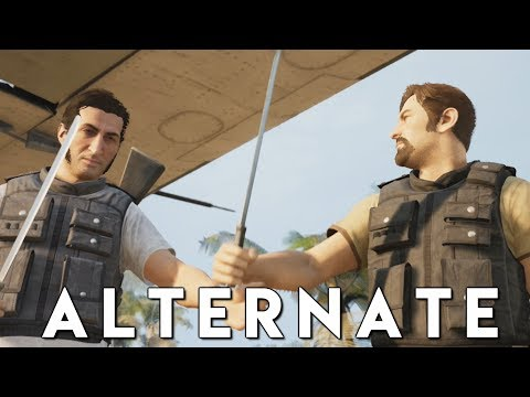 A WAY OUT *ALTERNATE CHOICES* Walkthrough Gameplay (PS4 Pro)