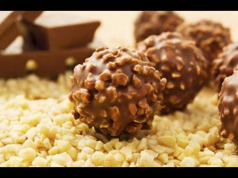 Homemade Ferrero Rocher Inspired Balls | Tasty Food