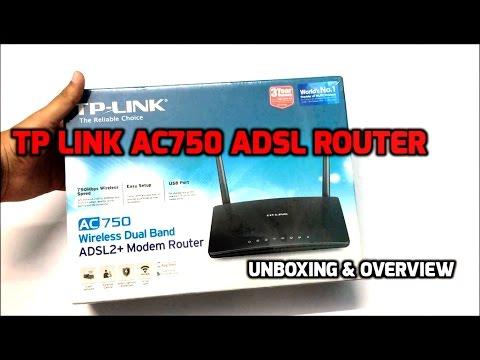 TP-Link Archer D20 Dual Band ADSL2+ Modem Router Unboxing & overview (INDIA)