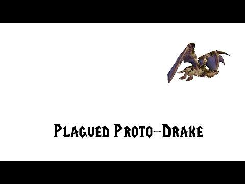 [ZT] Plagued Proto-Drake - World of Warcraft Mount