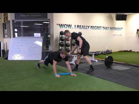 UFC Fighter Bobby Nashs Lower Body and Core Strength Superset  STACK