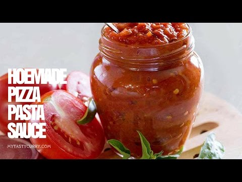 Red Pizza and Pasta Sauce | How to make Pasta and Pizza sauce