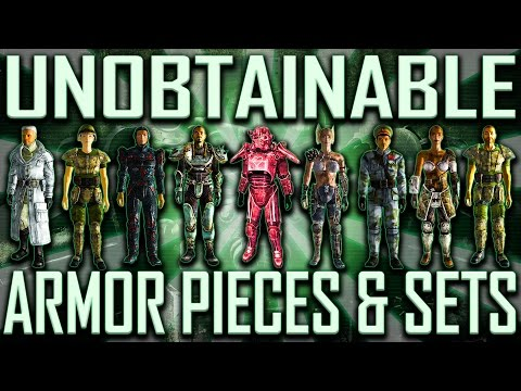 Unobtainable Armor - Fallout 3 (Includes DLCs)