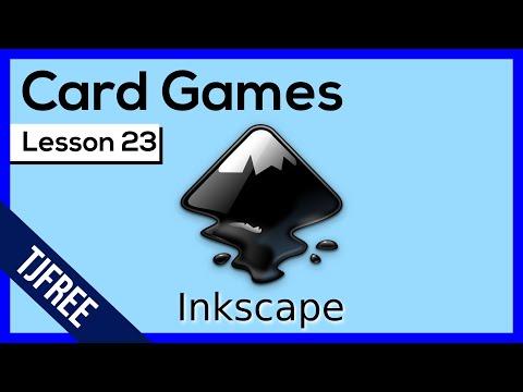 Inkscape Lesson 23 - Create Custom Card Games, Dice, etc...